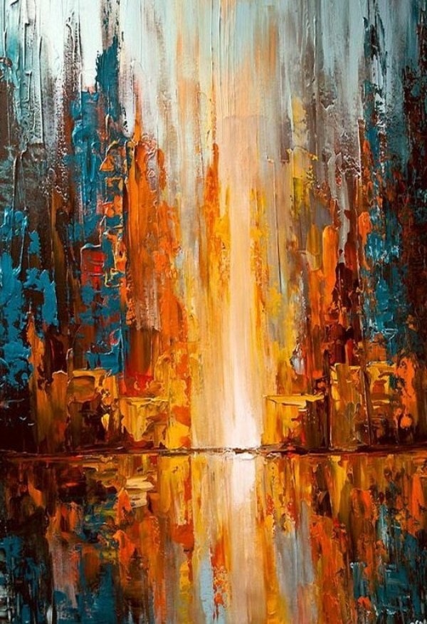 45 Beautiful Palette Knife Paintings Ideas Artisticaly Inspect The Artist Inside You