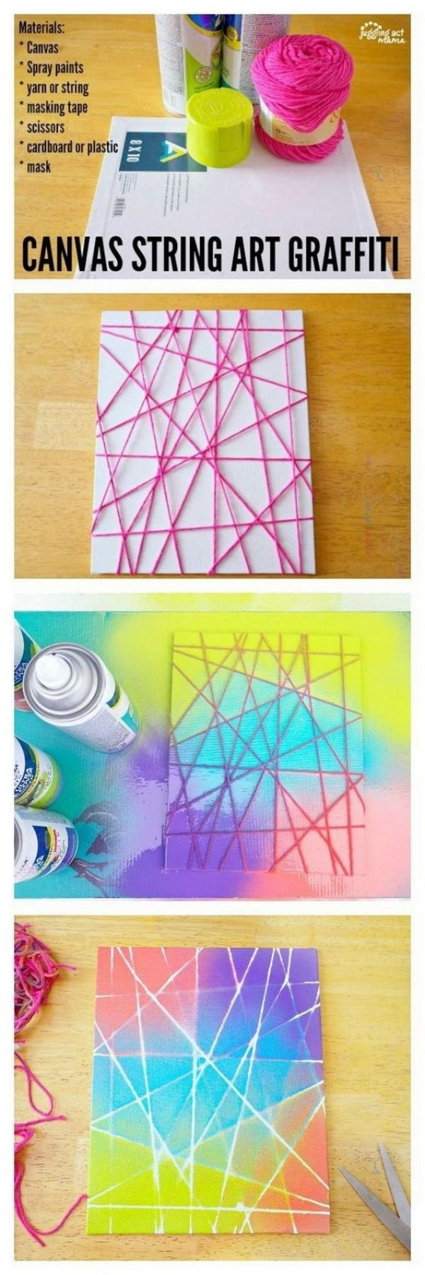 25 Diy Canvas Paintings Tutorials Explained For Beginners Artisticaly Inspect The Artist Inside You
