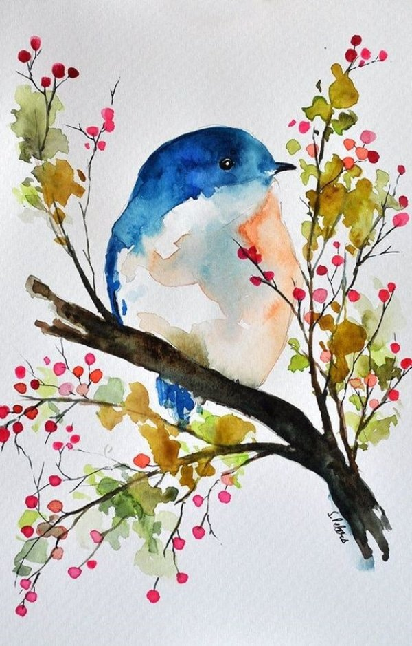 40 Simple Watercolor Painting Ideas For Beginners To Try Artisticaly Inspect The Artist Inside You