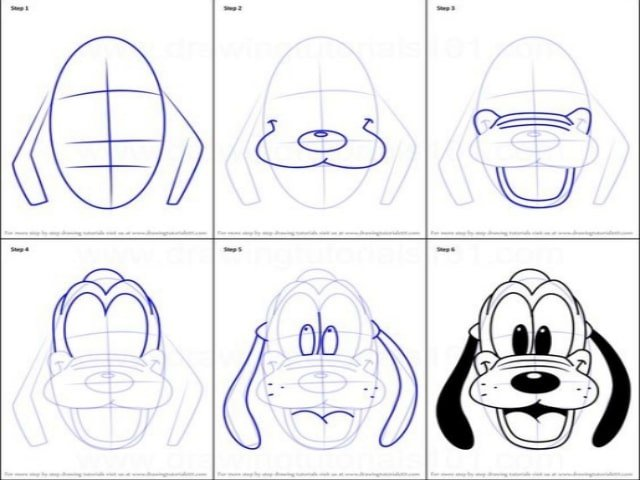 40 Easy Step by Step Tutorials to Draw a Cartoon Face